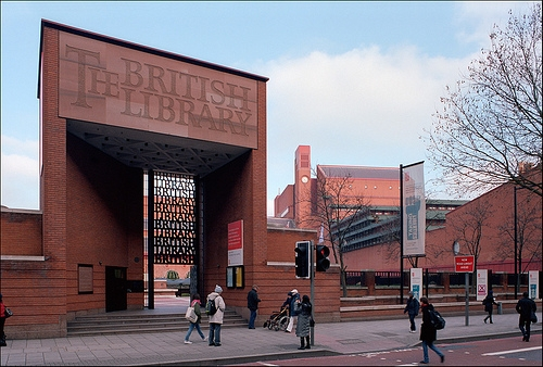 The British Library. (Image by Xavier de Jauréguiberry, Flickr)