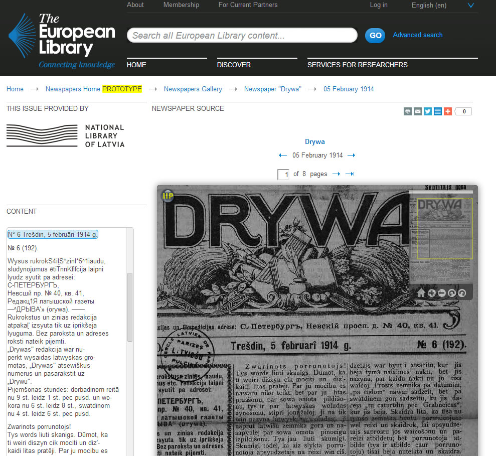 Search result with content from National Library of Latvia