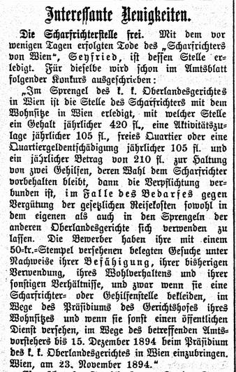 Bozner Nachrichten, 1 December 1894,