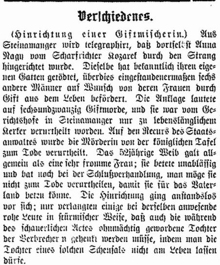 Bozner Zeitung 5 Decmber 1882