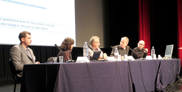 From left to right: Olivier Hamon , Sophie Kurkdjian, Philippe Tétart, Marc Minon and Laurent Martin.